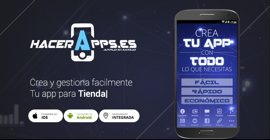 Hacer Apps – Crear apps para android o iphone